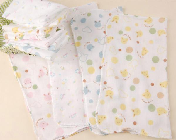 外銷日本高級印花紗布手帕/方巾/毛巾/餵奶巾1入裝【無螢光漂白】【TwinS伯澄】