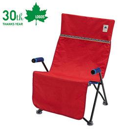 丹大戶外【LOGOS】日本 Neos OX防水椅套 座椅墊/椅套/可水洗/防塵防髒汙 73173047 紅