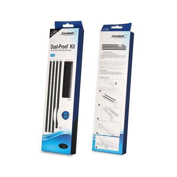 刷卡DOBE PS4 Pro主機專用遊戲機防塵網Pro主機機防塵網防塵塞PS Pro
