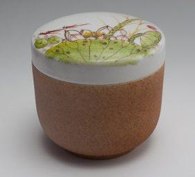 手繪陶瓷糖果罐