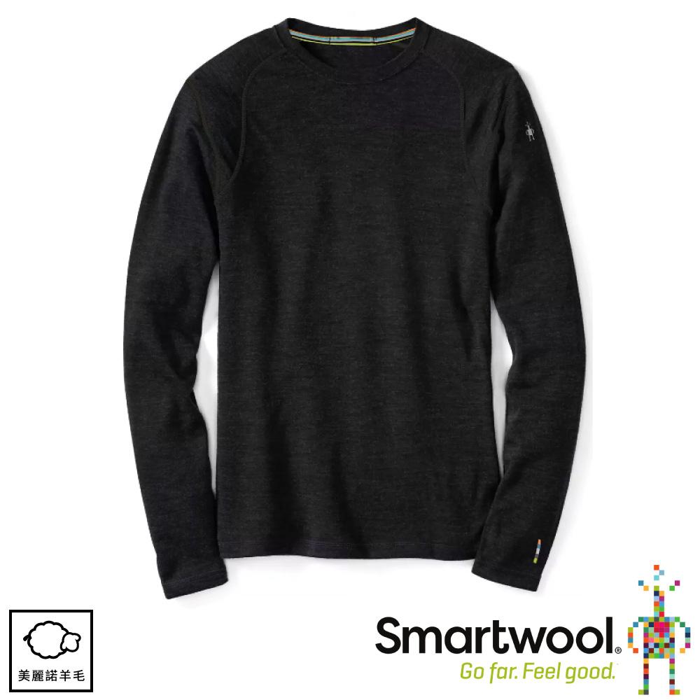 【SmartWool 美國 男 NTS 250長袖衫《炭黑色》】SW0NP600/保暖長袖/內層/衛生衣