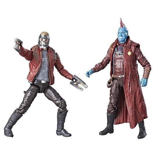 MARVEL漫威人物星際異攻隊2 Star-Lord and Yondu 4.7吋模型人偶孩之寶