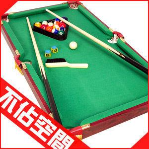 木製90X50桌上型撞球台(內含完整配件)附球杆撞球桌撞球桿遊戲桌遊戲機球類運動用品推薦哪裡買