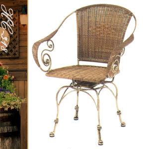 造型餐椅子.典雅扶手旋轉椅.休閒藤椅子.造型藤編椅.咖啡籐椅.戶外椅.餐廳椅.推薦哪裡買專賣店