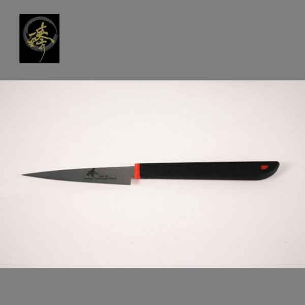 料理刀具三合鋼系列-9cm刻花刀臻高級廚具-SC014-12 M