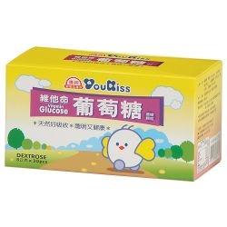 『121婦嬰用品館』優親 維他命葡萄糖顆粒5g*30包/盒