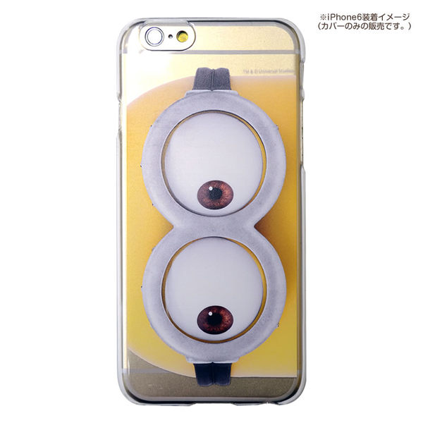 尼德斯Nydus*日本正版神偷奶爸小小兵The Minions透明款手機殼4.7吋iPhone 6