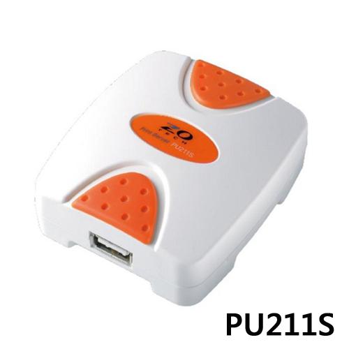 ZO TECH零壹PU211S USB埠印表伺服器