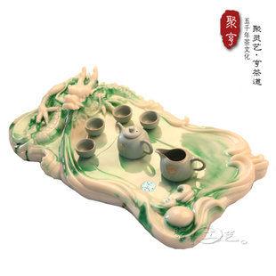 新品上市新龍茶盤