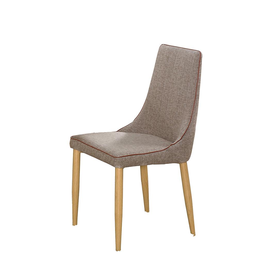 巴黎灰色皮餐椅(20JS1/909-2)/H&D東稻家居