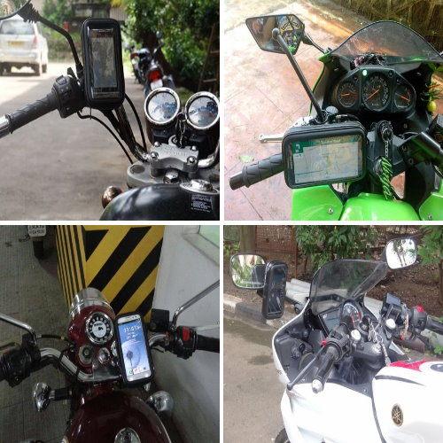 note3note 2 3 s3 s4 s5 mini neo grandduos gps掀蓋皮套手機座機車導航車架摩托車導航座