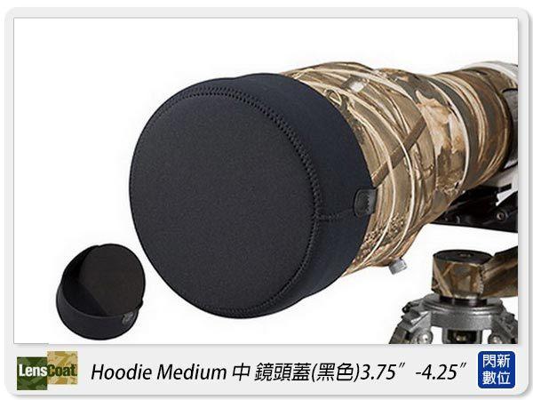 【分期0利率,免運費】美國 Lenscoat Hoodie Medium 中 黑色 鏡頭蓋
