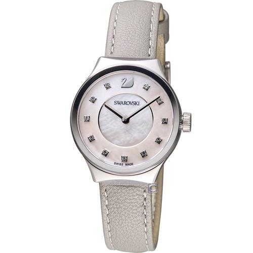 SWAROVSKI 施華洛世奇 Dreamy 簡約時尚腕錶 5219457 白x灰