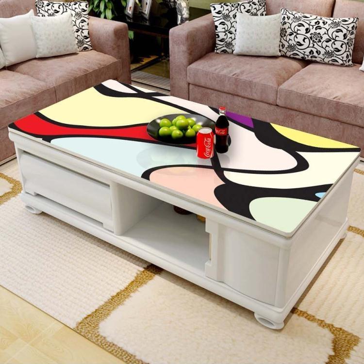 家具貼膜貼紙不透明玻璃茶幾餐桌實木玻璃貼灶臺桌面保護膜x9