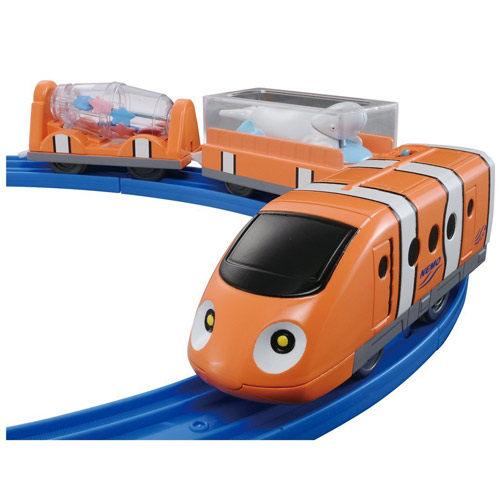 震撼精品百貨Disney x PLARAIL海底總動員尼莫火車