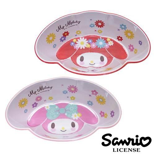 日本進口正版美樂蒂My Melody造型碗塑膠碗沙拉碗水果碗三麗鷗Sanrio