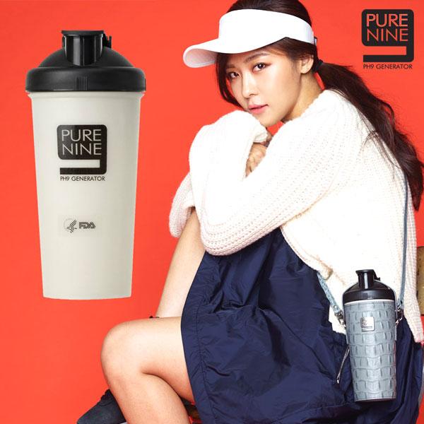 韓國PURENINE PH9河智苑代言智能轉鹼水壺裸瓶水壺白黑兩款可選特價beauty pie