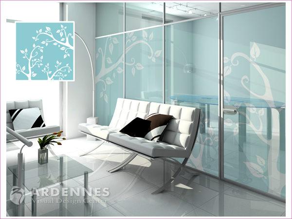 【ARDENNES】防水壁貼 壁紙 牆貼 / 磨砂面 亮面 / 玻璃透明貼紙 GS-038
