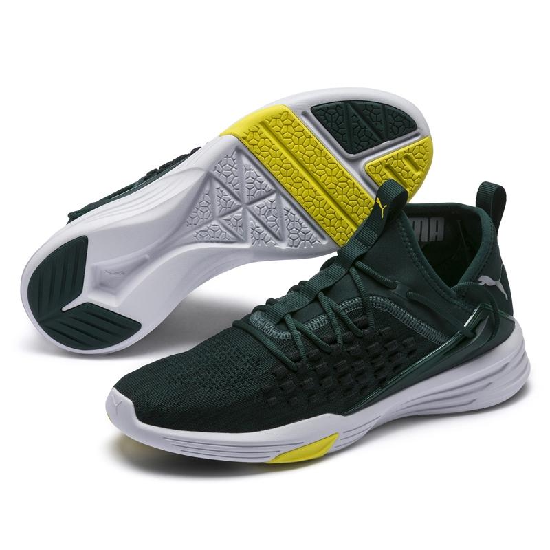 Puma Mantra 男 綠 運動鞋 慢跑鞋 有氧運動鞋 慢跑 健身 訓練 透氣 彈性 舒適 套襪式 鞋子 19248702