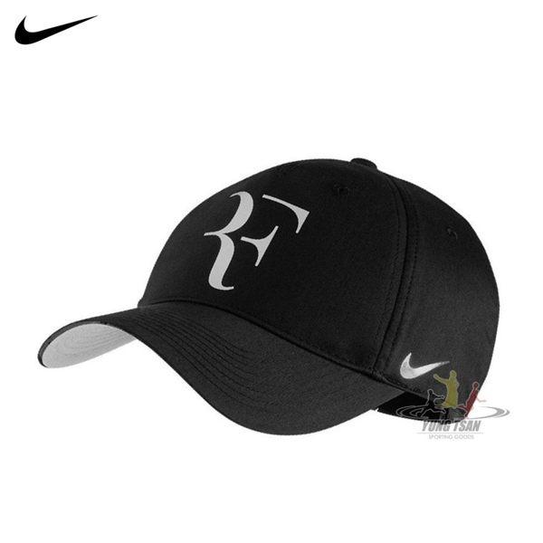Nike Federer 黑 帽子 費德勒 Aerobill 運動帽 網球帽 運動 電繡 硬款 可調整式 868579011