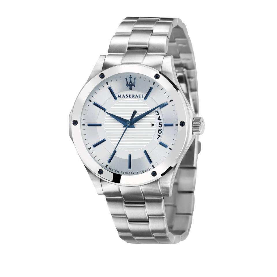 Maserati 瑪莎拉蒂-台灣總代理公司貨-原廠保固兩年-海神霸氣腕錶(手錶 男錶 女錶 對錶)