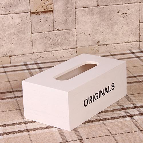 面紙盒-雜貨實木抽紙盒大號面巾紙盒完美家居