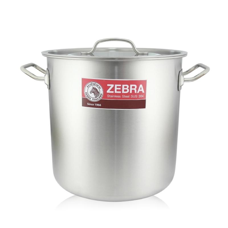 ZEBRA斑馬牌深型大滷桶不鏽鋼湯鍋28cm大容量燉滷鍋-大廚師百貨