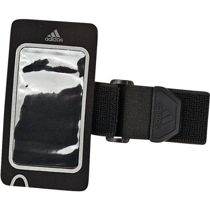 ADIDAS Running Media Armpocket手機運動臂套黑運動世界S94459