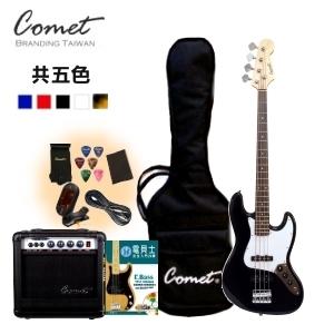 BASS Comet四弦爵士電貝斯超值套餐20瓦貝斯音箱JB05 JB-05電貝士JAZZ BASS