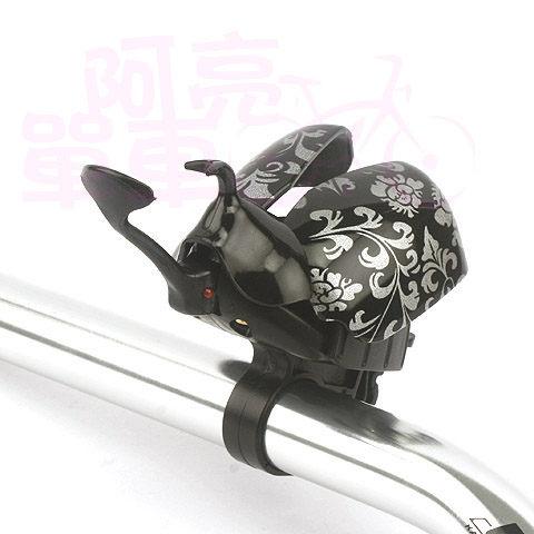 N 1 自行車獨角仙鈴鐺,背上獨特美麗花紋《B20-089-1》