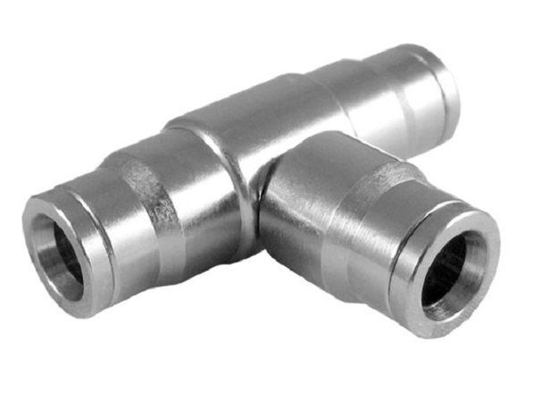 灑水達人1 4 2分三通銅鍍鉻材質高低壓噴霧機專用