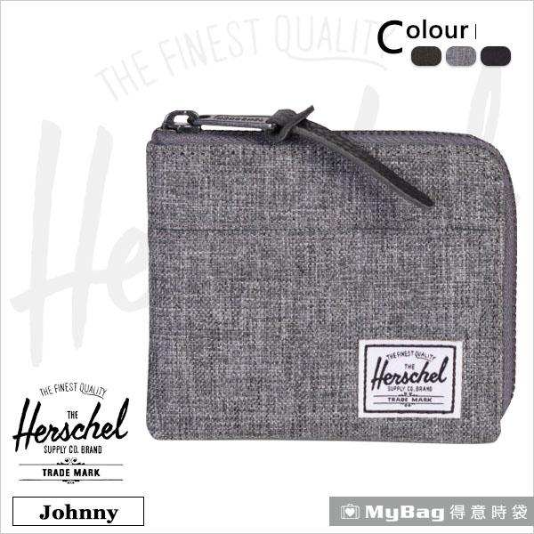 Herschel 皮夾 Johnny  經典拉鍊零錢包  (新款) 得意時袋