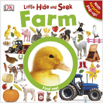 麥克書店LITTLE HIDE AND SEEK FARM硬頁書