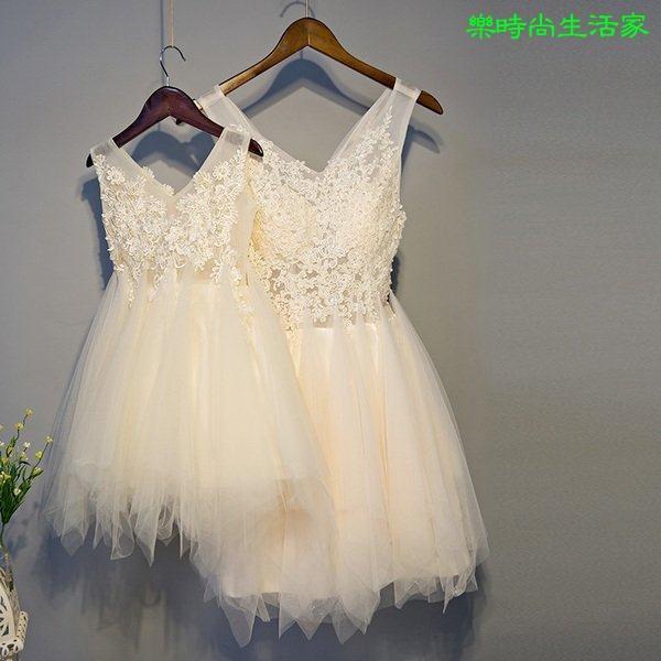 2017新款公主服母女親子裝禮服連衣裙T004