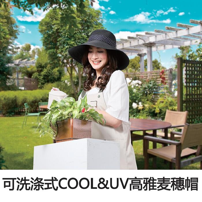 日本太陽帽子草帽女夏天潮遮陽帽防曬防紫外線帽子大簷圓頂可折疊-needs007