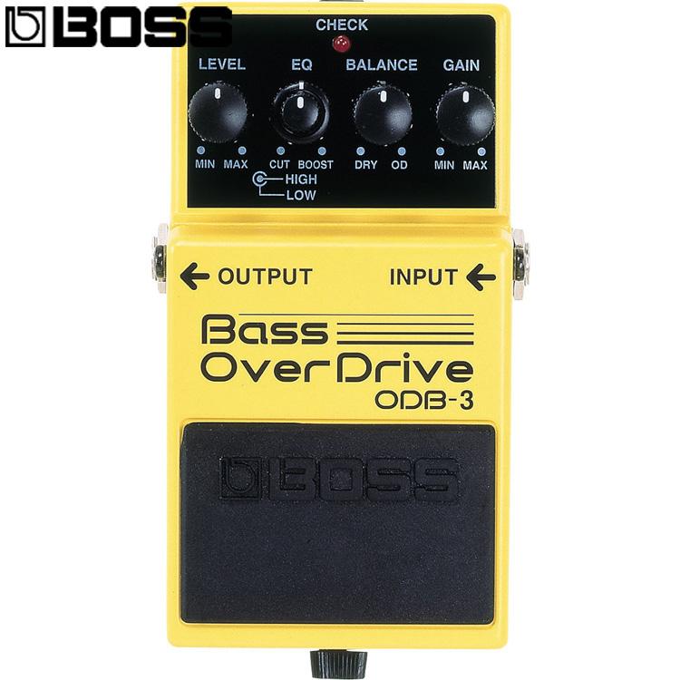 小叮噹的店-單顆效果器BASS貝斯BOSS ODB-3