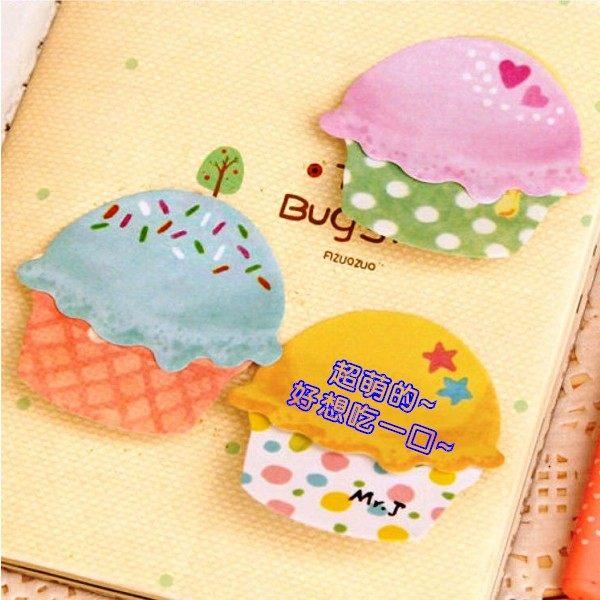 N次貼韓系文具冰淇淋N次貼便利貼文具辦公用品想購了超級小物