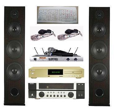 金嗓電腦公司CPX-900GR全民大歌星卡拉OK組合1500GB EAV-660擴大機EGL-1688F喇叭EWM-R92無線麥克風