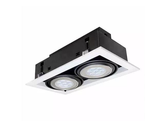 燈王AR111 LED 7W x 2嵌燈白光黃光內附驅動器TYL15