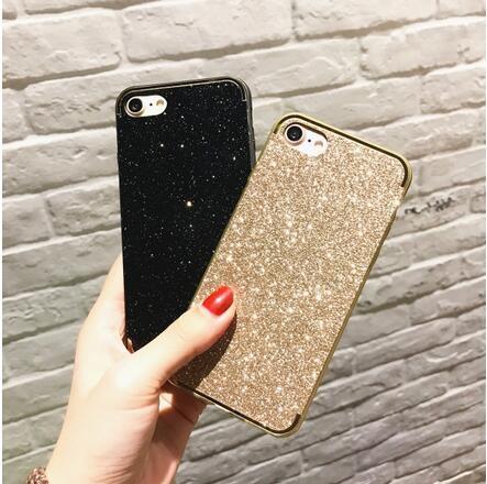 【SZ25】iphone 6s 手機殼 韓國電鍍邊玫瑰金閃粉 iphone plus手機殼 iphone 7 plus手機殼 iphone 7 手機殼