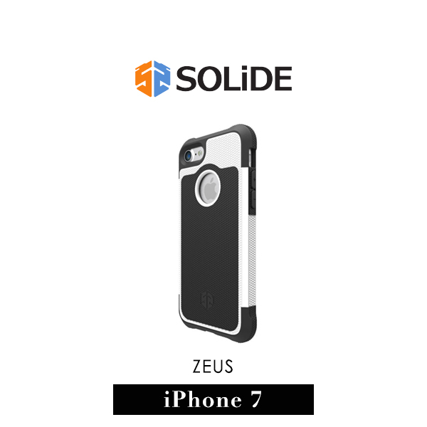 【G2 STORE】SOLiDE ZEUS 軍規級 iPhone 7 防摔 保護殼 天使白
