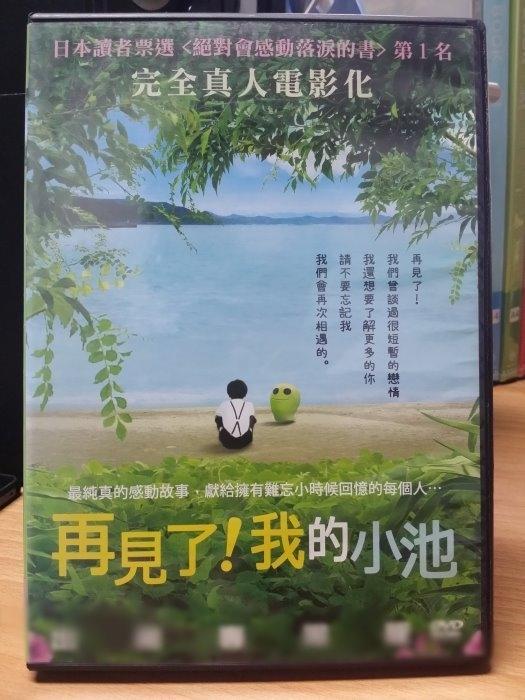 挖寶二手片-G06-036-正版DVD*日片【再見了 我的小池】蒼井優*深澤嵐