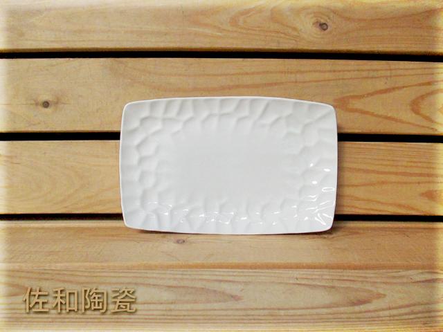 佐和陶瓷餐具~82T134-10 10吋水立方長方盤開店餐廳擺盤宴會盤