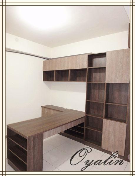 歐雅系統家具系統書櫃&吧檯系統高櫃系統收納櫃E1-V313防潮塑合板系統櫃工廠