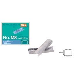 MAX NO.M8-1M M8號釘書針