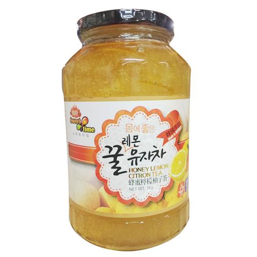 韓廚蜂蜜檸檬柚子茶1 KG【愛買】