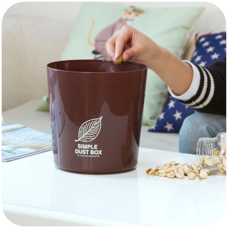 超豐國際塑料垃圾桶家用客廳茶幾迷你垃圾筒辦公桌桌面無蓋小垃圾盒