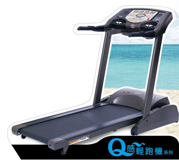 超贈點五倍送福利品tokuyo超彈性Q跑板電動跑步機TT-686光感應負離子給你健康好活力