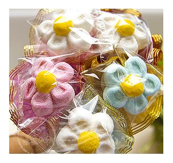 幸福朵朵婚禮小物單支-大花花棉花糖花棒二次進場生日情人節畢業禮物求婚花束