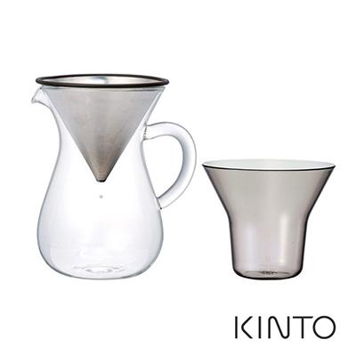 日本KINTO SCS手沖咖啡壺組300ml《WUZ屋子》